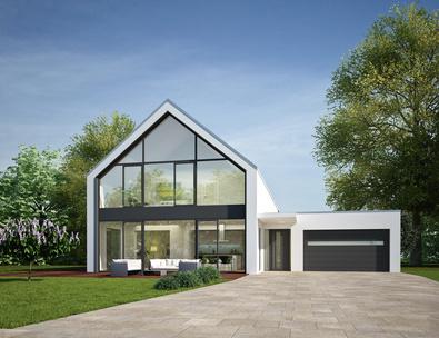 bauhaus architektur winsen luhe bm hausbau. Black Bedroom Furniture Sets. Home Design Ideas
